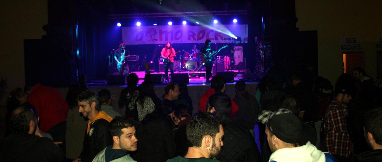 Imagen de una actuación, durante pasadas ediciones de Olmorock.