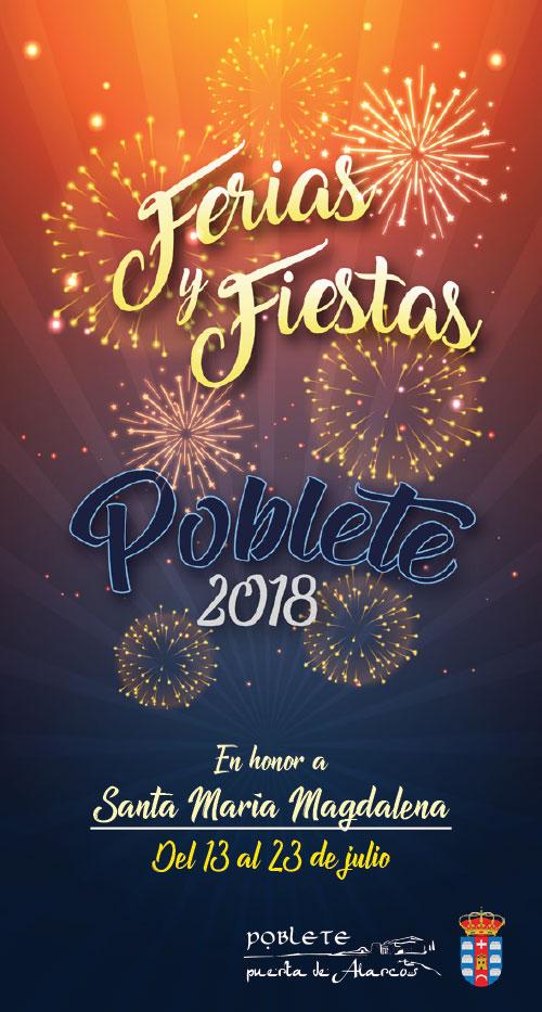 Programa de Fiestas María Magdalena 2018