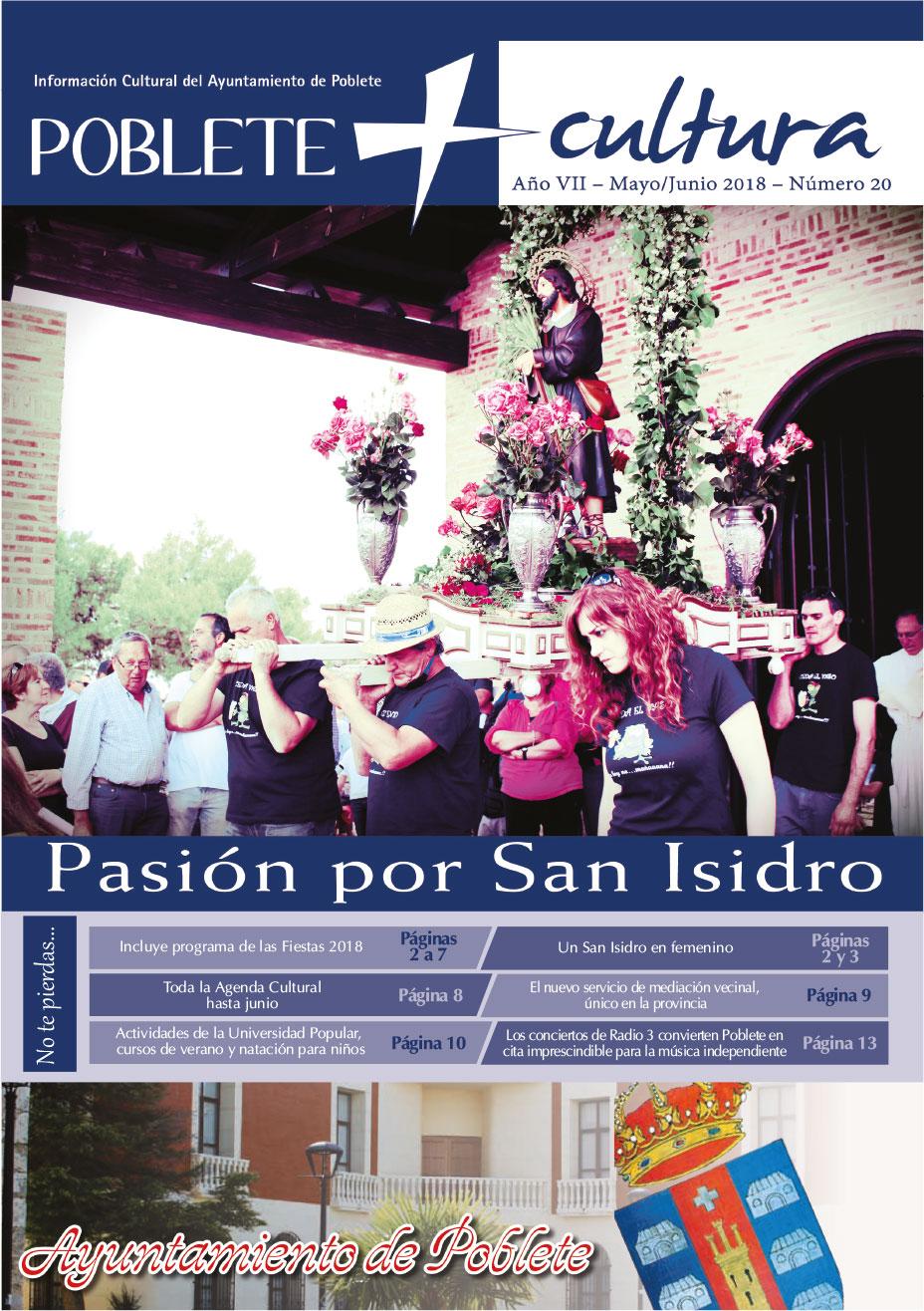 Programa de Fiestas San Isidro 2018