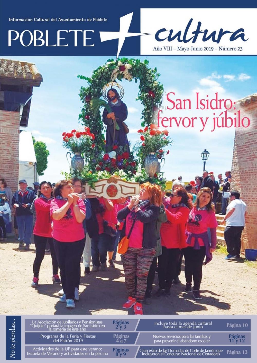 Programa de Fiestas San Isidro 2019